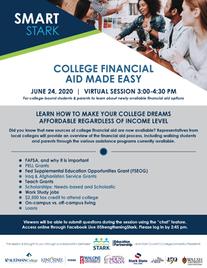 Smart Stark Flyer Financial Aid Session