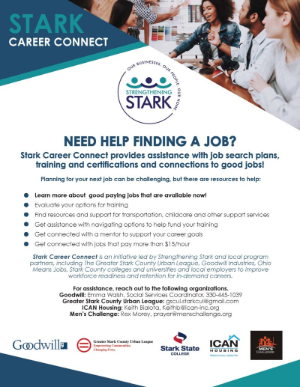 Stark Career Connect Flyer
